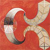 The Swan No 9 Group IX By Hilma AF Klint