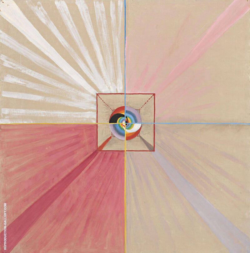 The Swan No II Group 9 1914 By Hilma AF Klint