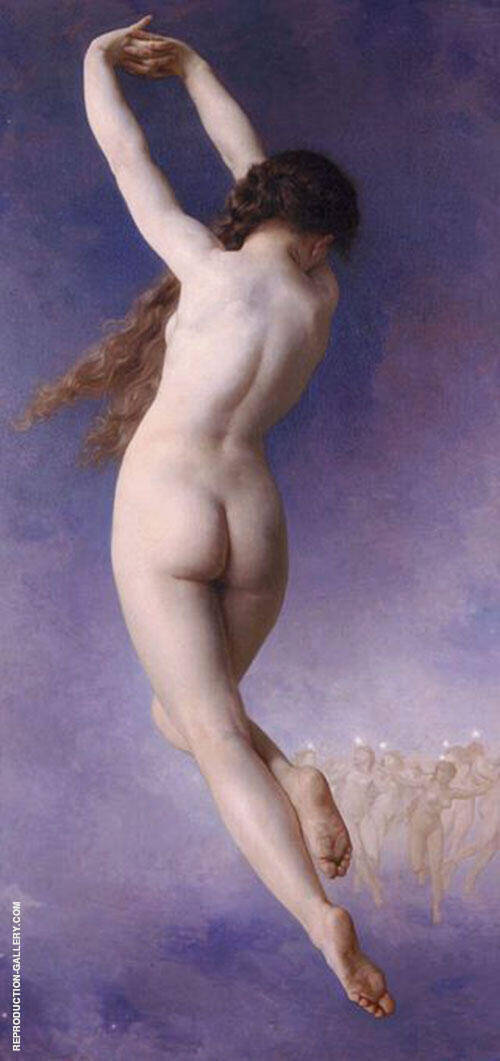 The Lost Pleiad By William-Adolphe Bouguereau