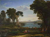 The Mill 1648 By Claude Lorrain