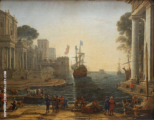 Ulysses Gives Chryseis to His Father 1644 By Claude Lorrain