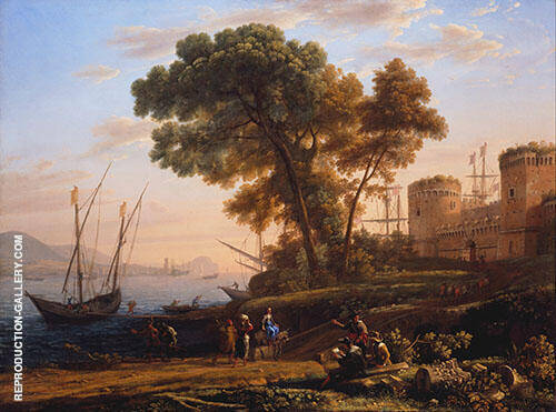 An Artist Studying from Nature 1639 By Claude Lorrain