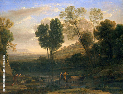 Sunrise 1646 By Claude Lorrain