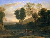 Sunrise 1646 By Claude Lorrain