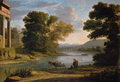 The Ford By Claude Lorrain