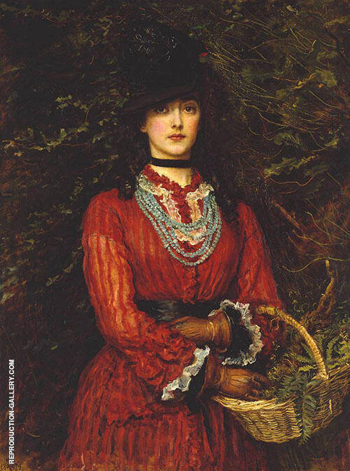 Miss Eveleen Tennant Painting 1874 By Sir John Everett Millais