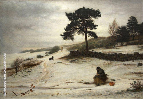 Blow Thou Winter Wind 1892 By Sir John Everett Millais