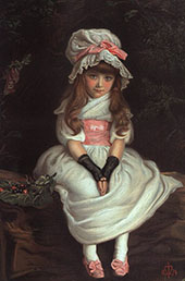 Cherry Ripe 1879 By Sir John Everett Millais