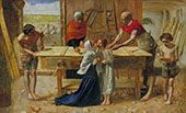 Christ in The House of His Parent c1849 By Sir John Everett Millais