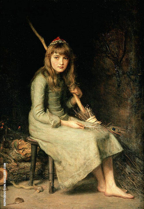 Cinderella 1881 By Sir John Everett Millais