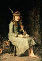 Cinderella 1881 By Sir John Everett Millais