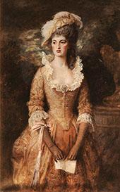 Clarissa By Sir John Everett Millais