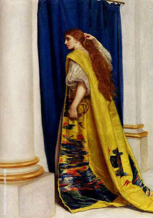 Esther 1865 Painting By Sir John Everett Millais - Reproduction Gallery