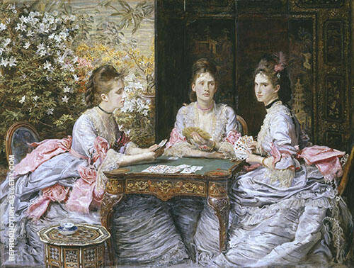 Hearts are Trumps 1872 By Sir John Everett Millais