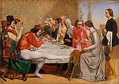 Isabella 1848 By Sir John Everett Millais