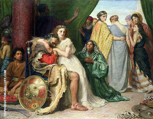 Jephthah 1867 By Sir John Everett Millais