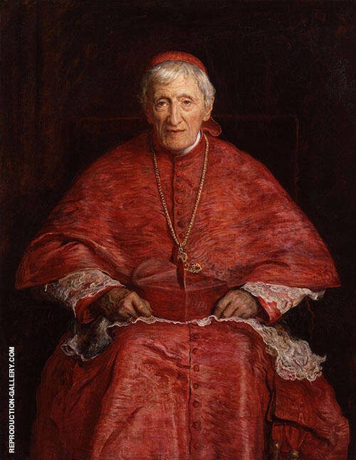 John Henry Newman 1881 By Sir John Everett Millais