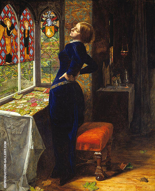 Mariana 1851 By Sir John Everett Millais