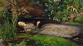 Ophelia 1851 By Sir John Everett Millais