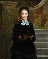 Picture of Health Alice The Artist's Daughter 1874 By Sir John Everett Millais