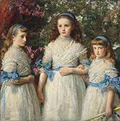Sisters 1868 By Sir John Everett Millais