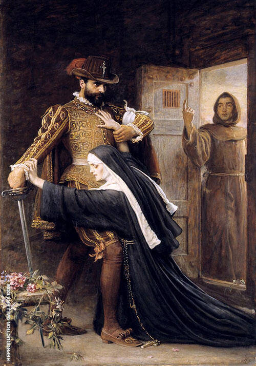 St Bartholomew's Day 1572 By Sir John Everett Millais