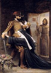 St Bartholomew's Day 1572 By Sir John Everett Millais