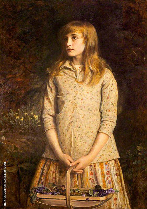 Sweetest Eyes Were Ever Seen By Sir John Everett Millais
