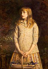 Sweetest Eyes Were Ever Seen By Sir John Everett Millais