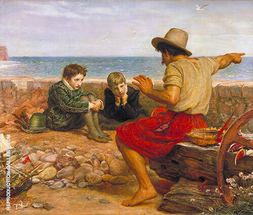 The Boyhood of Raleigh 1870 By Sir John Everett Millais
