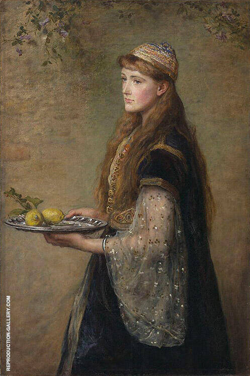 The Captive 1882 Painting By Sir John Everett Millais