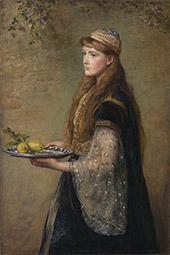 The Captive 1882 By Sir John Everett Millais