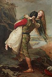 The Crown of Love 1875 By Sir John Everett Millais