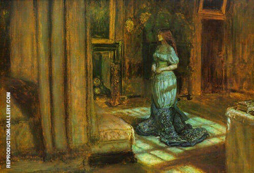 The Eve of Saint Agnes 1863 By Sir John Everett Millais