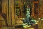 The Eve of Saint Agnes 1863 By Sir John Everett Millais