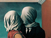 Lovers II 1928 By Rene Magritte