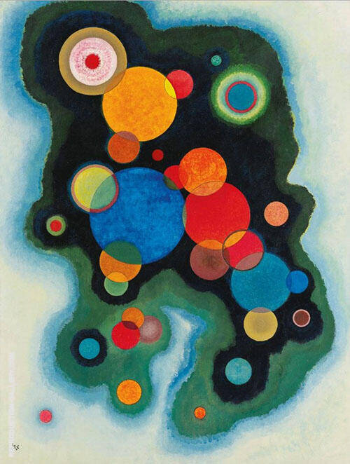 Deepened Impulse 1928 Painting By Wassily Kandinsky - Reproduction Gallery
