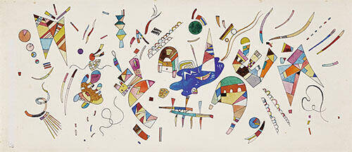 Without Title 1941 Painting By Wassily Kandinsky - Reproduction Gallery