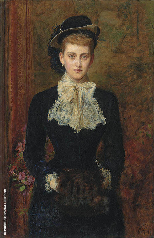 The Former Mrs Sebastian Schlesinger By Sir John Everett Millais