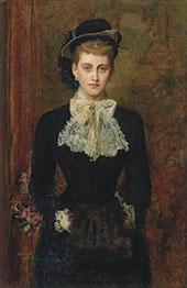 The Former Mrs Sebastian Schlesinger By Sir John Everett Millais