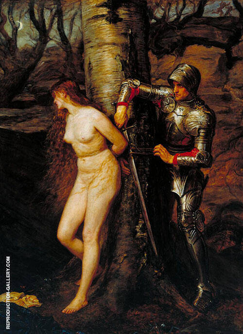 The Knight Errant 1870 By Sir John Everett Millais
