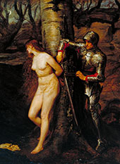 The Knight Errant 1870 By Sir John Everett Millais