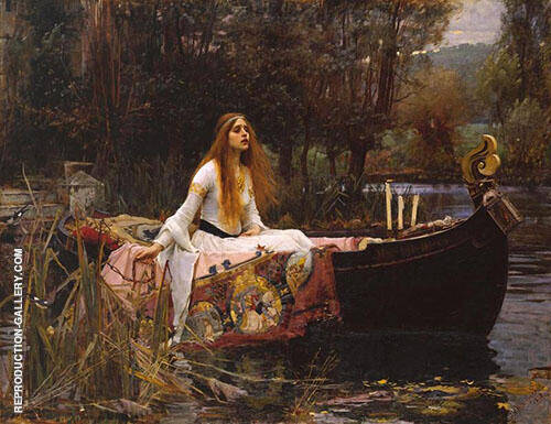 The Lady of Shalott 1851 By Sir John Everett Millais