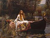 The Lady of Shalott 1851 By Sir John Everett Millais