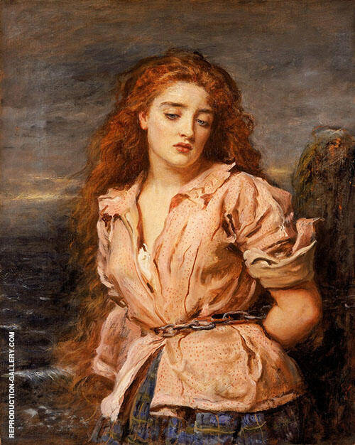 The Martyr of The Solway c1871 By Sir John Everett Millais