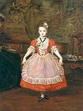 The Minuet 1866 By Sir John Everett Millais