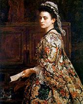 Vanessa 1868 By Sir John Everett Millais