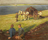 Spreading The Nets By Harold Harvey
