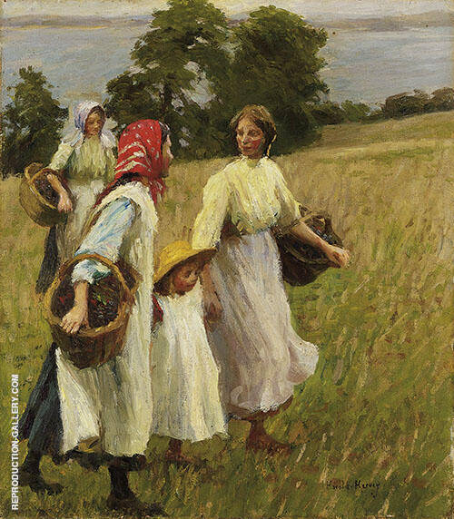 The Blackberry Harvest By Harold Harvey