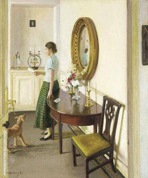 The Letter 1937 By Harold Harvey